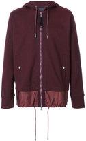 Diesel Black Gold double hem drawstring hoodie - men - Cotton/Nylon - M