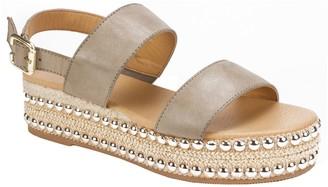 Seven Dials Dual Strap Sandals - Berenice