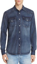 Jean Shop Garth Denim Regular Fit Button-Down Shirt