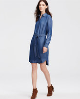 Ann Taylor Chambray Shirtdress