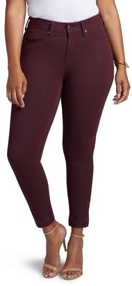 Curves 360 by NYDJ Boost Released Hem Skinny Jeans (Plus Size)