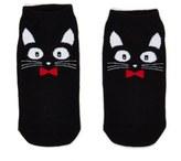 Forever 21 FOREVER 21+ Cat Print Ankle Socks