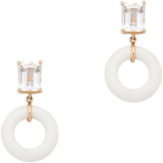 Munchkin Bondeye Jewelry White Topaz Earrings
