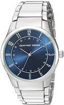 Geoffrey Beene Men's Quartz Metal and Alloy Dress Watch, Color:Silver-Toned (Model: GB8113SL)