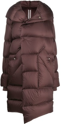 Rick Owens Padded Hooded Coat