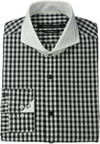 Sean John Men's Tailored Fit Textured Check