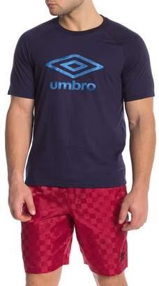 Umbro Short Sleeve Front Graphic Logo Print Tee