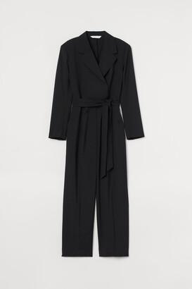 H&M Tuxedo Jumpsuit