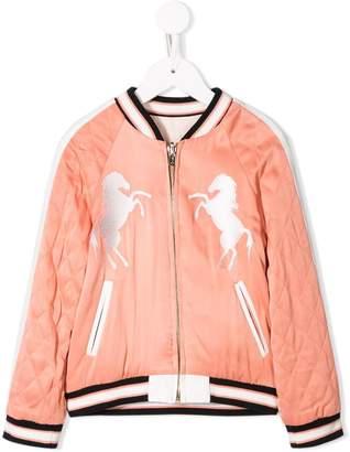 Chloé Kids reversible bomber jacket