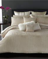 "Donna Karan Moonscape 12"" Square Decorative Pillow Bedding"