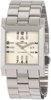 Fortis Women's 629.20.72 M Square SL Automatic Date Stainless Steel Band Watch