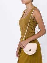 Mansur Gavriel Mini saddle leather bag