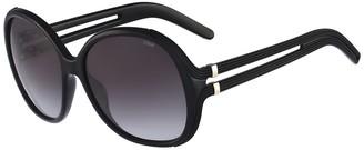 Chloé 58mm Square Cutout Sunglasses