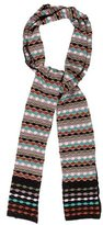 M Missoni Metallic Pattern Scarf