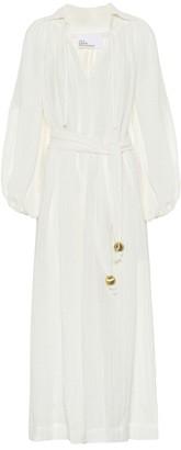 Lisa Marie Fernandez Poet linen-blend maxi dress