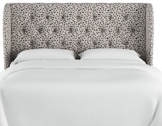 "Wrought Studioâ""¢ Marksbury Tufted Upholstered Wingback Headboard Wrought Studioa Size: California King"