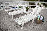 Polywood Nautical Wheeled Chaise