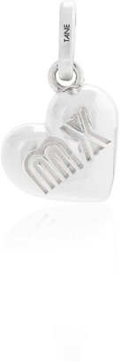 Tane Exquisitely Detailed Heart Of Mexico Charm Handmade In Sterling Silver