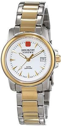 Swiss Military Hanowa Ladies 'Watch XS Swiss Recruit Lady Prime Analog Quartz Stainless Steel Coated 06/7044.1.55.001