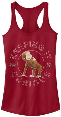 Fifth Sun Curious George Keep It Curious Established '41 Ideal Racer Back Tank