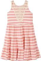 Speechless Girls 7-16 Striped Tiered Dress