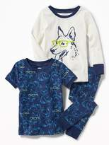 Old Navy Dog-Graphic 3-Piece Sleep Set for Toddler & Baby