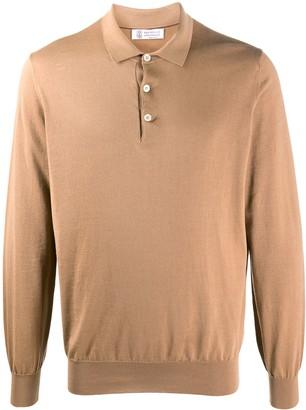 Brunello Cucinelli Pique Cotton Polo Shirt