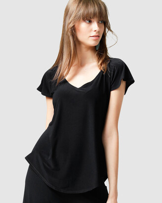SACHA DRAKE - Women's Black Tops - Analia Top - Size One Size, 8 at The Iconic