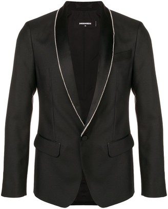 DSQUARED2 Zip Lapel Blazer