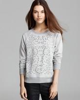 C&C California Sweatshirt - Studded Metallic