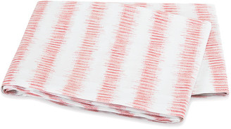 The Matouk Schumacher Collection Attleboro Flat Sheet - Pink Coral - Twin