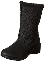 totes Women's Nancy Zipper Snow Boot