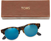 Toms 52MM Charlie Mirrored Polarized Sunglasses