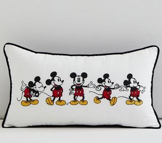 Pottery Barn Kids Disney Mickey Mouse Lumbar Pillow