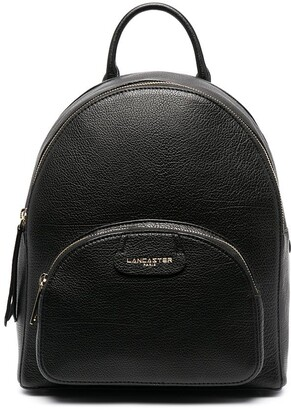 Lancaster Dune leather backpack