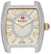 Michele Women's Urban Mini Diamond Dial Watch Head, 29Mm X 31Mm