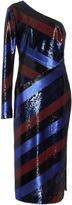 Diane von Furstenberg One Shoulder Sequin Dress