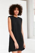 Silence & Noise Silence + Noise Rolled Cuff Muscle Tee Dress