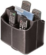 Stock Your Home Spinning Remote Control Organizer Caddy Media Organizer Electronic Organizer Remote Caddy Black