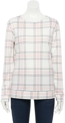 Croft & Barrow Petite Extra Soft Crewneck Sweatshirt