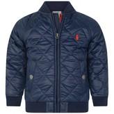 Ralph Lauren Ralph LaurenBaby Boys Navy Quilted Jacket