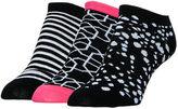 Sof Sole Women's Finish Line No-Show 3-Pack Socks