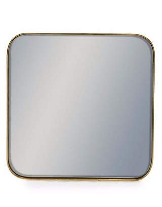 Homewood & Rose - Small Gold Framed Square Wall Mirror - Gold