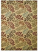 Bed Bath & Beyond Leafs Rug in Ivory