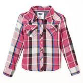 Levi's Dani Plaid Button Front Shirt