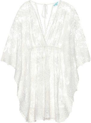 Melissa Odabash Amara cotton-blend dress