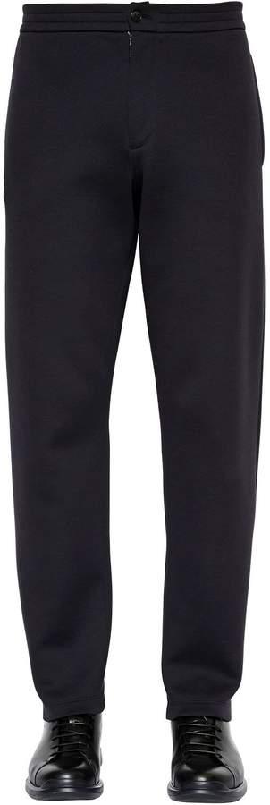Giorgio Armani Cotton Jersey Sweatpants