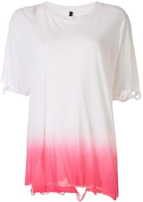 Unravel Project ombre dye T-shirt
