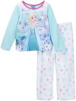 AME Frozen Elsa Fleece PJ Set (Toddler Girls)