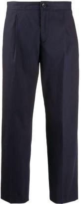 A.P.C. Amalfi straight-leg cotton trousers